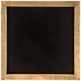 Chalkboard With Natural Wood Frame